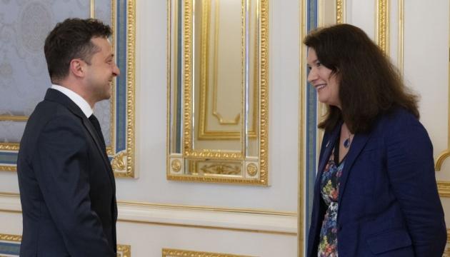 Зеленский встретился с главой ОБСЕ: о чем говорили