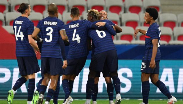 Франция в Мюнхене обыграла Германию в матче футбольного Евро-2020