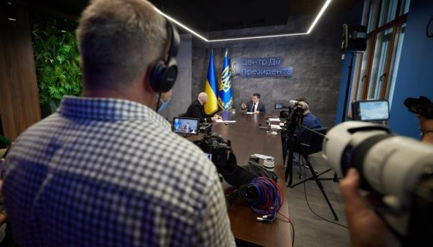 Зеленский спрогнозировал результат встречи Байдена с Путиным