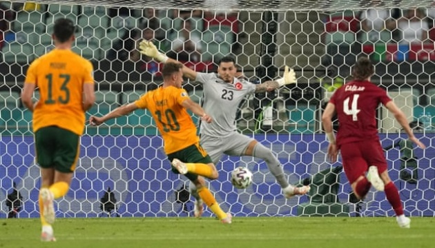Вельс переміг Туреччину на Євро-2020