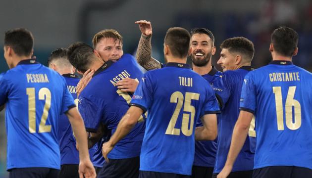 Італія перемогла Швейцарію і першою вийшла в плей-офф Євро-2020