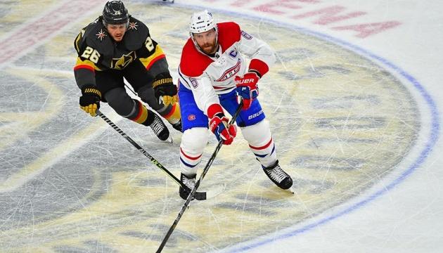 НХЛ: «Монреаль» обіграв «Вегас» і зрівняв рахунок у півфінальній серії Кубка Стенлі