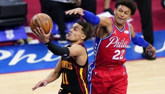 «Філадельфія» поступилася «Атланті», «Юта» програла «Кліпперс» в матчах плей-офф НБА
