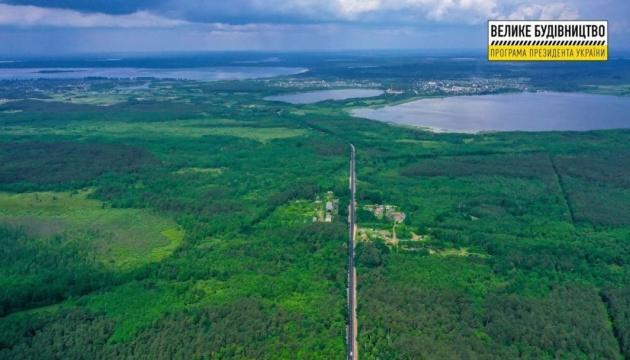 На Волині закінчили ремонт 26 км дороги до Шацьких озер