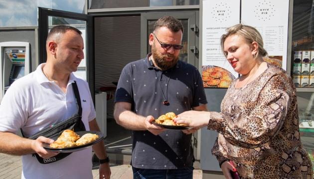 У Києві відкрили турінфоцентр із продажем нового гастрономічного символу міста