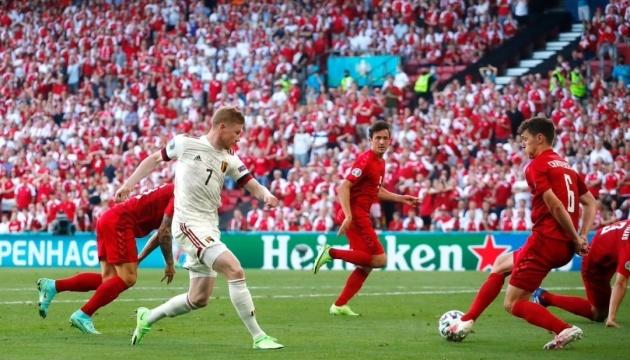 Бельгія обіграла у Копенгагені Данію в матчі Євро-2020