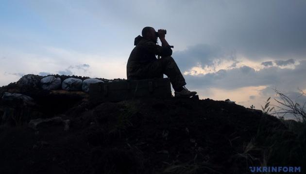 Два порушення «тиші» та ворожий дрон: штаб розповів про обстановку в зоні ООС