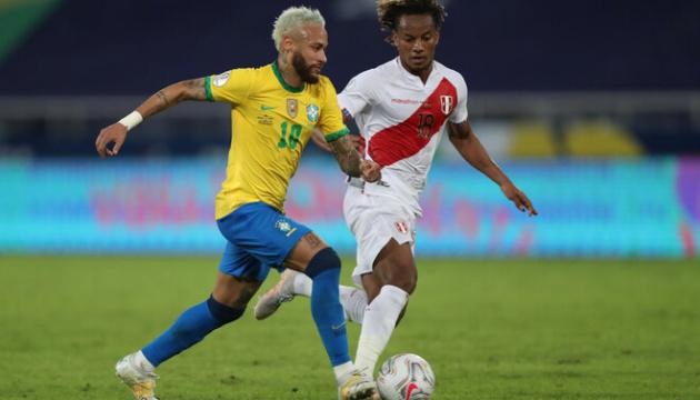 Кубок Америки: Бразилія розгромила Перу