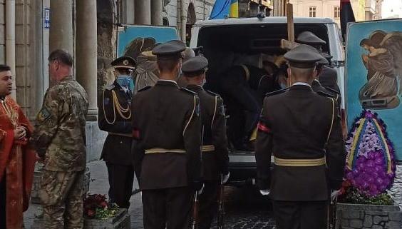 У Львові попрощалися із загиблим бійцем бригади імені короля Данила
