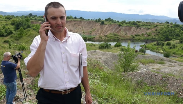 В Солотвино на Закарпатье приостановился карстовый процесс
