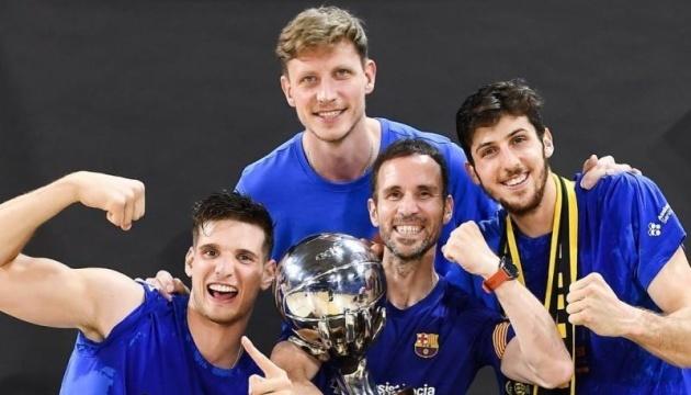 Український баскетболіст Пустовий попрощався з «Барселоною»