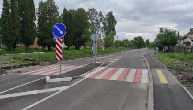 На Житомирщині відремонтували 6 кілометрів місцевої дороги
