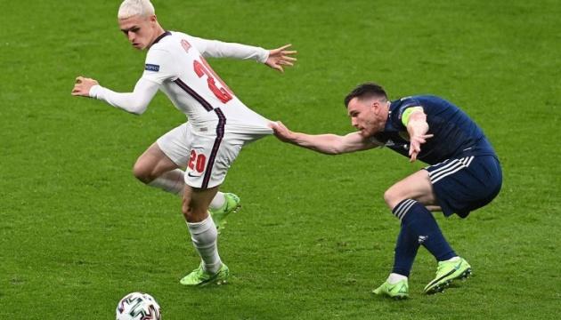 Сборные Англии и Шотландии сыграли вничью в матче футбольного Евро-2020