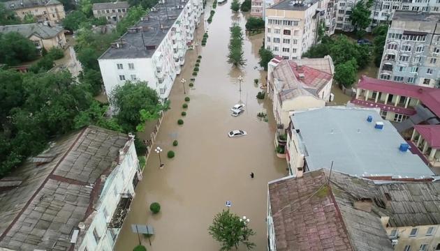 В результате наводнения в Ялте без вести пропали два человека