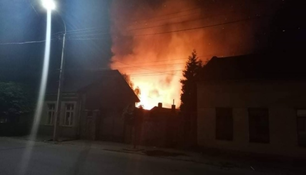 На Закарпатье горел ромский табор