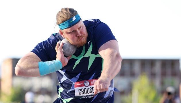 Американец Краузер установил новый мировой рекорд в толкании ядра