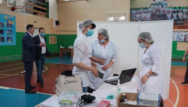 Во Франковске заработал центр массовой COVID-вакцинации