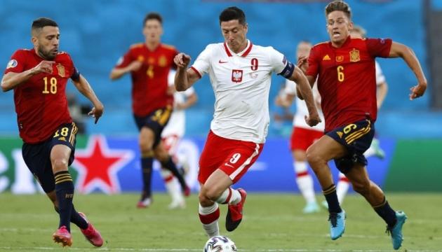 Збірні Іспанії та Польщі зіграли внічию на Євро-2020