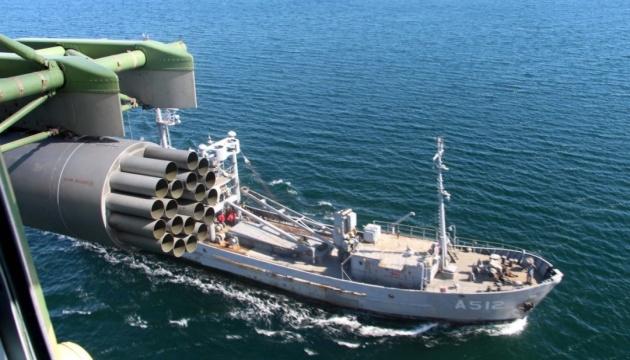 У Чорному морі українські військові відпрацювали маневри за стандартами НАТО