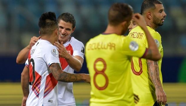 Кубок Америки: Колумбія програла Перу