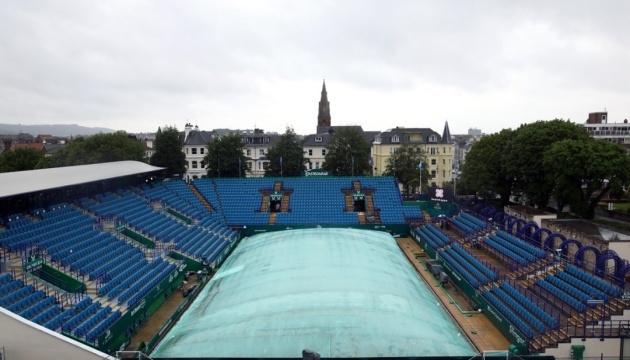 Теніс: дощ не дозволив українцям зіграти на кортах Великої Британії