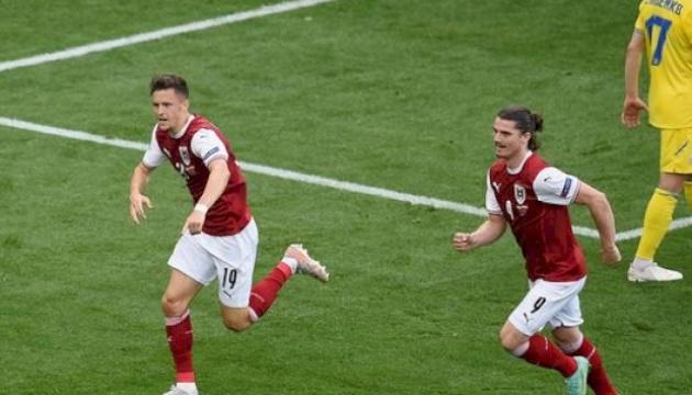 Збірна України програла Австрії