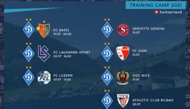 Стали відомі суперники київського «Динамо» на двох зборах у Швейцарії