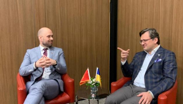Главы МИД Украины и Черногории договорились укреплять сотрудничество в сфере туризма
