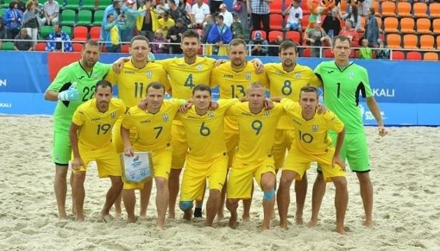 Збірна України з пляжного футболу розгромила Казахстан у відборі на ЧС-2021