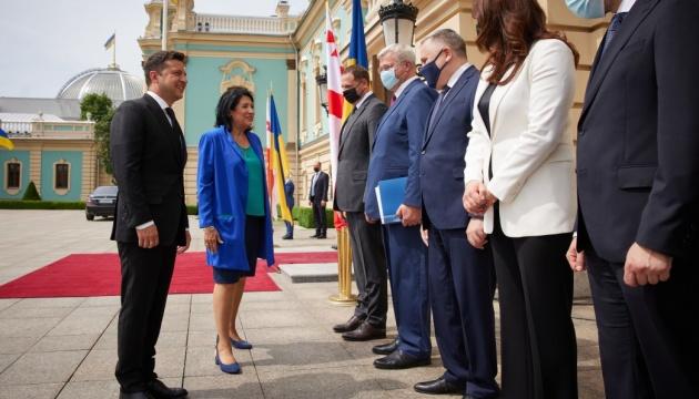 Кримська платформа: Зеленський розраховує на активну співпрацю з Грузією щодо безпеки в Чорному морі