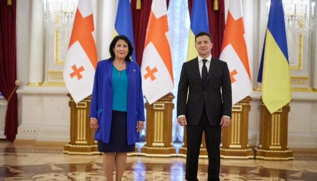 Кібербезпека та Чорне море: Зурабішвілі назвала завдання України та Грузії на шляху до НАТО