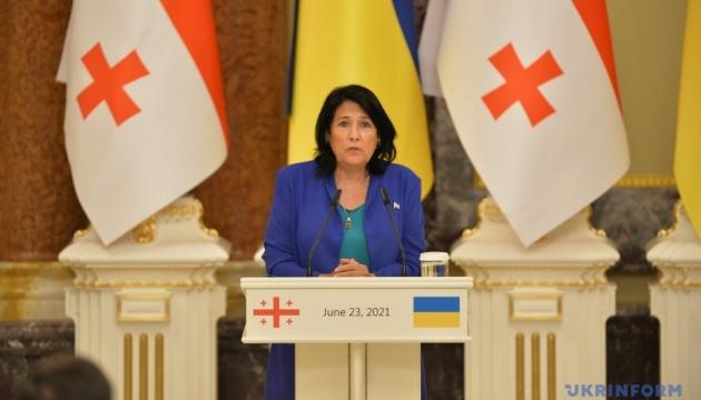 Відносини між Грузією та Україною повертаються до норми - Зурабішвілі