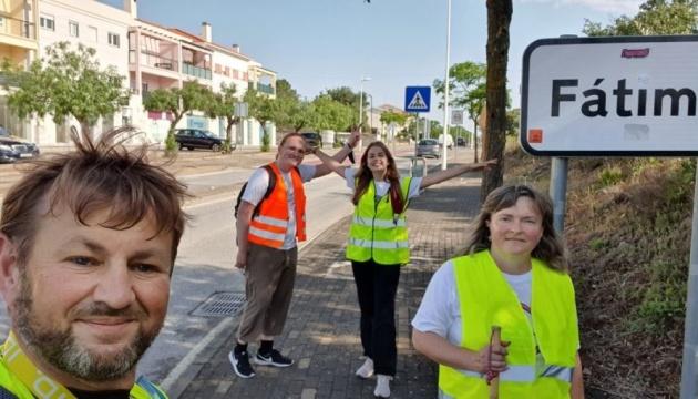 Сумівці Португалії здійснили паломництво до Марійського відпустового центру у Фатімі