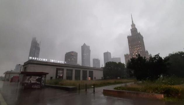 Над Варшавою пронісся буревій