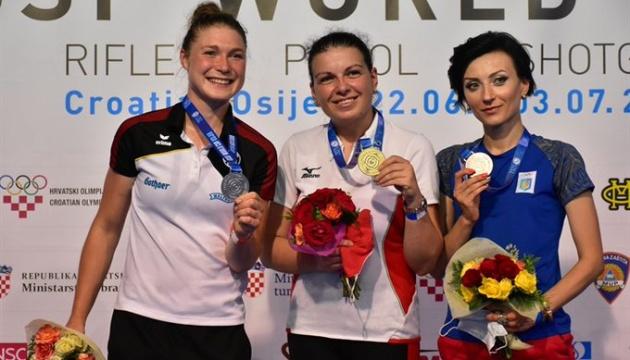 Юлія Коростильова виграла «бронзу» на етапі Кубка світу з кульової стрільби