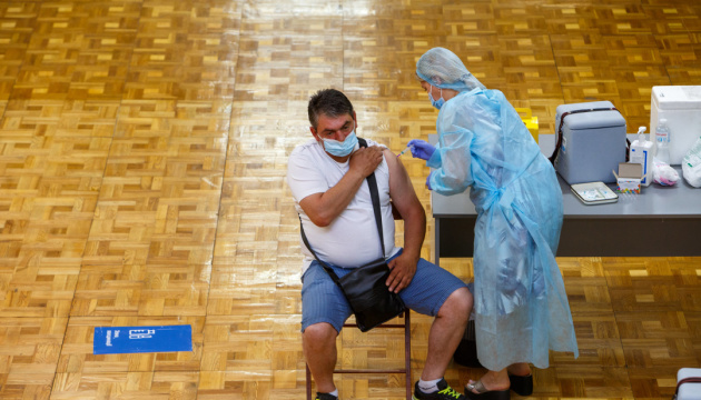 Over 143,000 people get COVID-19 jabs in Ukraine on July 28