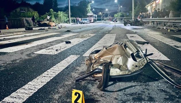 На Прикарпатье столкнулись два авто - есть погибший