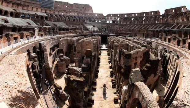 Підземелля Колізею у Римі вперше відкриють для публіки