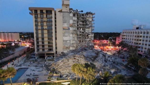 Обвал будинку у Флориді: кількість загиблих продовжує зростати