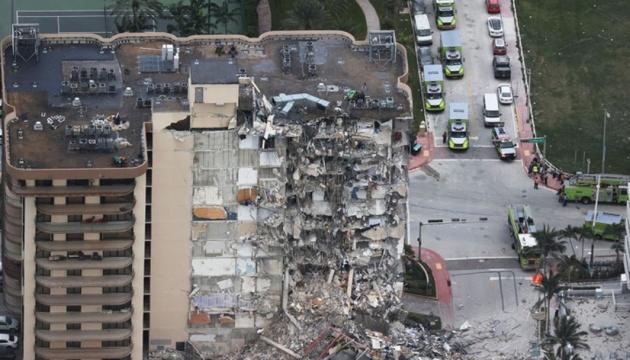 Про проблеми будинку, який обвалився у Маямі, було вже давно відомо - CNN