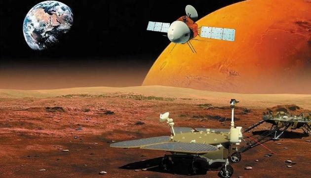 Китайське космічне управління опублікувало нові зображення з Марсу