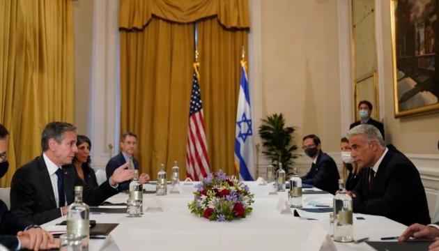 Блинкен встретился с новым главой МИД Израиля: говорили об Иране и Палестине