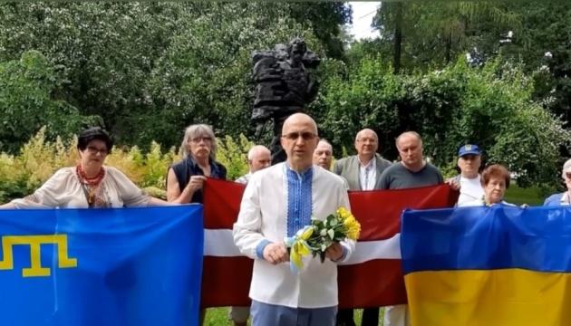 Українські активісти Латвії записали відеовітання до 25-ї річниці Конституції