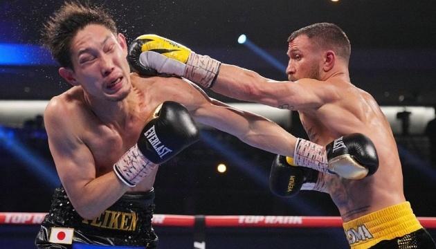 【ボクシング】ロマチェンコ、中谷にTKO勝ち