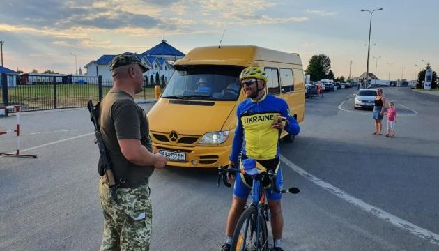 Лідер гурту «Скай» завершив велотур завдовжки 2151 км на Закарпатті