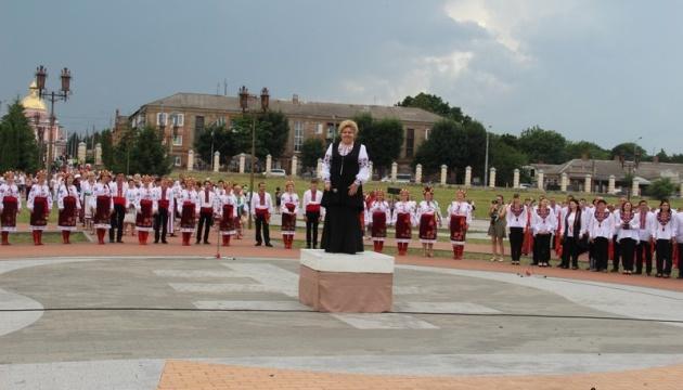 На Вінниччині встановили рекорд України  - «Щедрика» Леонтовича виконали понад 3,5 тис. осіб