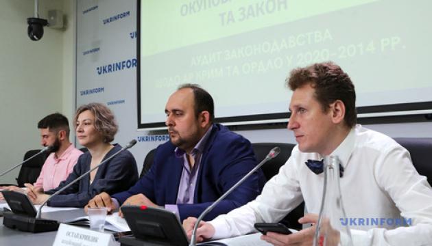Яким є українське законодавство щодо тимчасово окупованих територій?