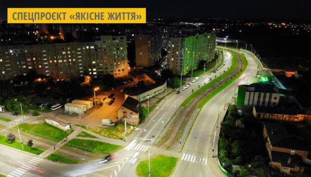 У Вінниці модернізували освітлення п'яти магістралей
