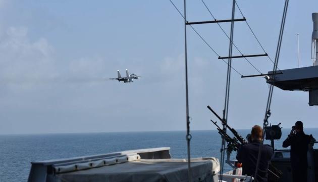Нідерланди звинуватили Росію в «імітації атак» на фрегат Evertsen у Чорному морі