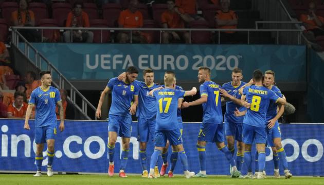 Збірна України з футболу перемогла Швецію і вперше вийшла до 1/4 фіналу чемпіонату Європи